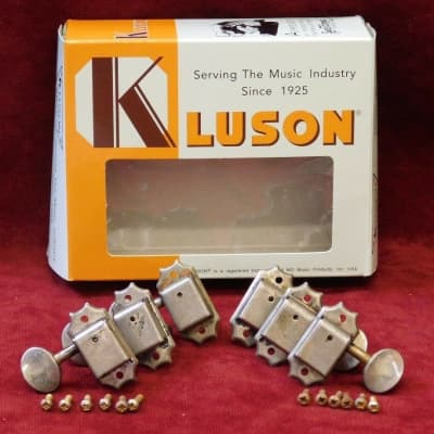 Kluson nickel Tuner RELIC / Aged for Custom Shop Gibson - Les Paul / SG & More!!
