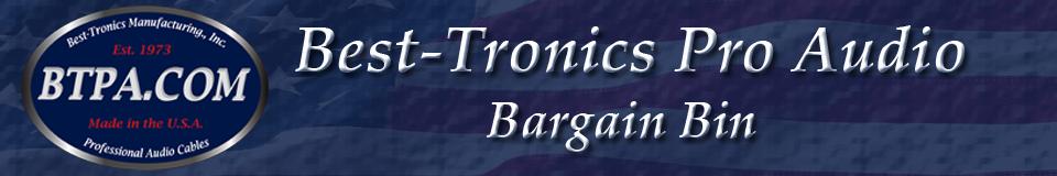 Best-Tronics Pro Audio's Bargain Bin