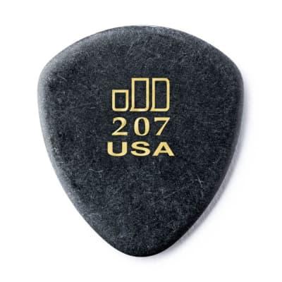 Dunlop 477P207 JD Jazztone 207 Large Round-Tip Guitar Picks (6-Pack)