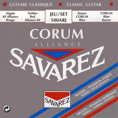 Savarez Corum Alliance - Mixed Tension Classical Guitar Strings - Corum Basses (HT) & Alliance Trebles (NT)