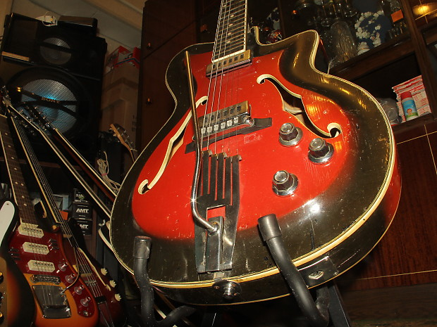 Cremona Hollow Body Soviet Electric Guitar Jolana Musima