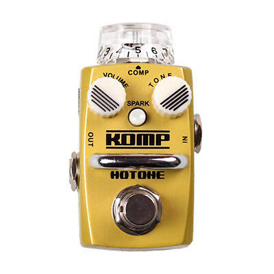 Hotone Komp Opto Compressor Dynamic Skyline Series Stompbox Guitar Effects Pedal