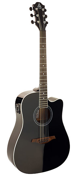 hohner guitars a by hohner as305ce bk acoustic electric reverb. Black Bedroom Furniture Sets. Home Design Ideas