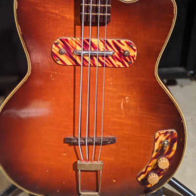 Kay Kay 162 1950's Sunburst for sale