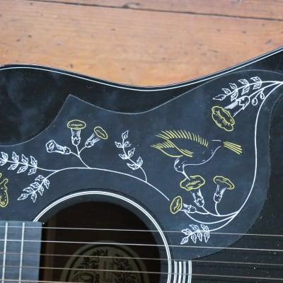 MINT! Unplayed NOS Museum Piece - Hondo H124 BHM (Gibson Hummingbird Copy) + Original Box for sale