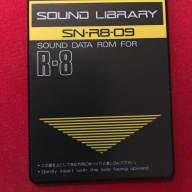 "R8 ""Power Drums USA"" Sound Card (SN-R8-09)"