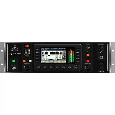 Behringer X32 Rack 40-Input Rackmount Digital Mixer with iOS Control