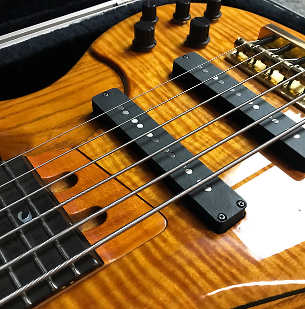 Yamaha john patitucci trbjp1 6 string bass guitar w reverb for Yamaha 6 string bass