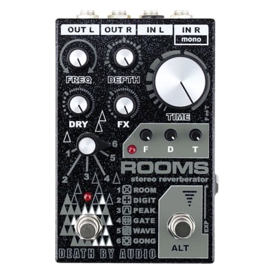 Death By Audio Rooms Stereo Reverb In-Stock