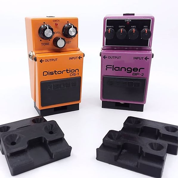 slow gear electronics ten pedal stands for boss black reverb. Black Bedroom Furniture Sets. Home Design Ideas