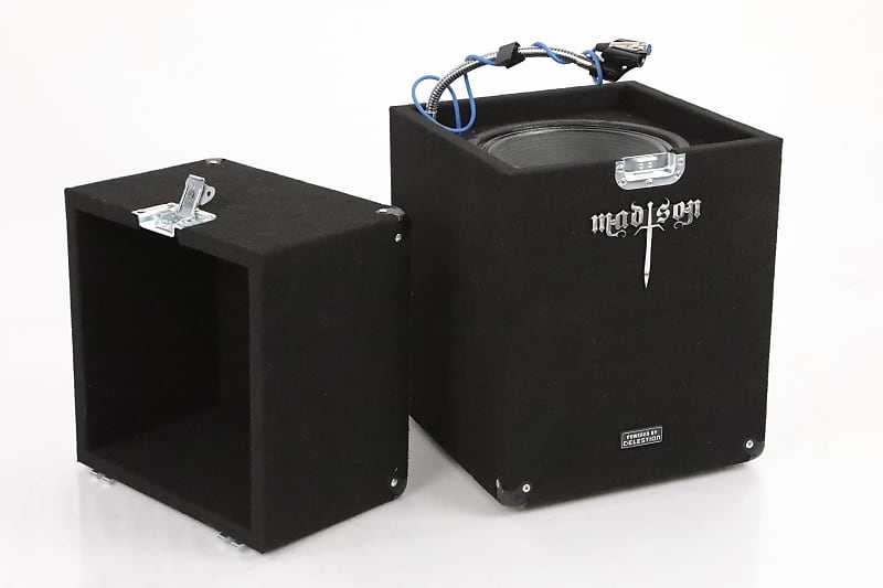 1x12 studio guitar isolation iso cab box celestion 12 reverb. Black Bedroom Furniture Sets. Home Design Ideas