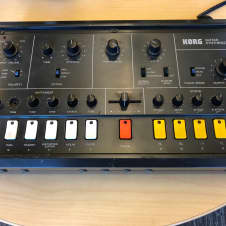 Korg X-911 Guitar Synthesizer Early 80s Brown