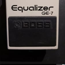 Boss GE-7 Graphic EQ Equalizer