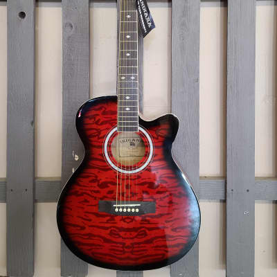 Indiana Madison Acoustic Exotic Red for sale