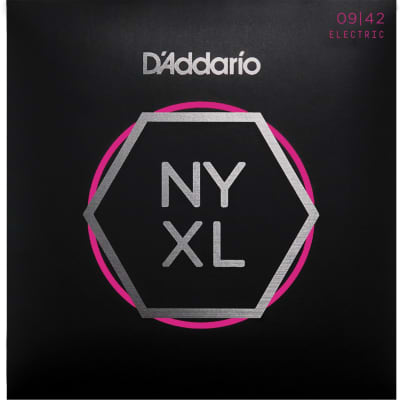D'Addario NYXL0942 Nickel Wound Super Light Electric Guitar Strings 9-42