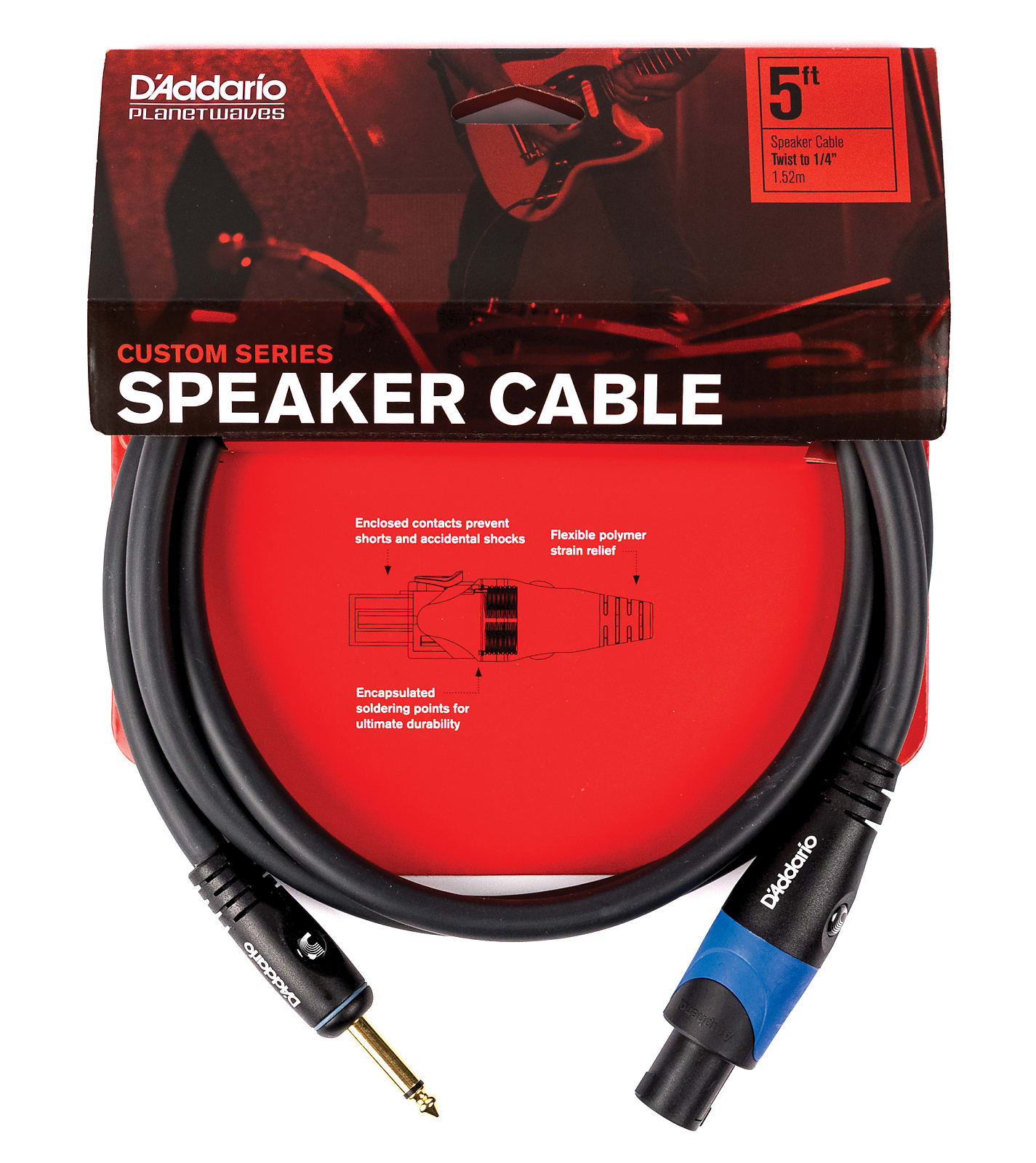 Planet Waves Classic Series 25 Foot Speaker Cable PW-CSPK-25
