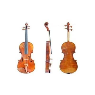 """M. Ravel VA10015OF 15"""" Flamed Viola Outfit with Bow & Oblong Case"""