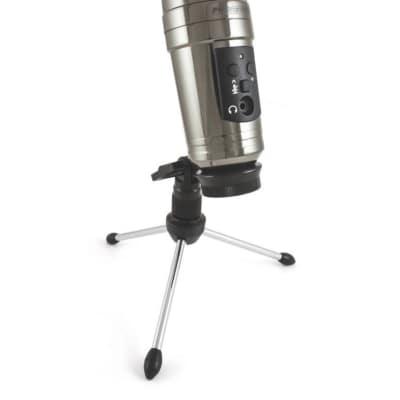 ProFormance P755USB Studio Condenser Microphone, Black Mirror Chrome