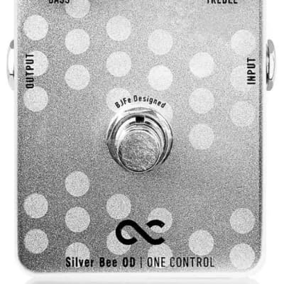 One Control Silver Bee OD Overdrive Electric Guitar Effect Pedal BJFe Series for sale
