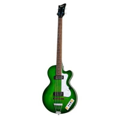 Hofner Club Bass - Ignition Transparent Green - PRO for sale