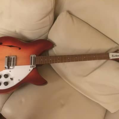 Rickenbacker 1997 VB Rose Morris Reissue 1990 Fireglo for sale