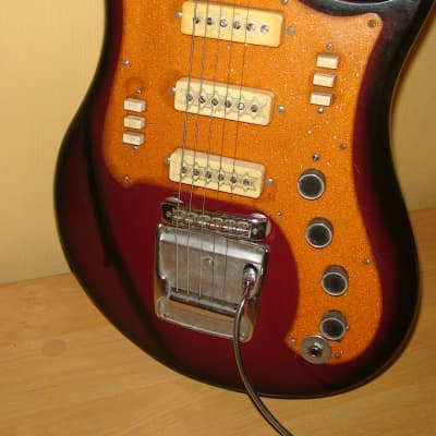 Ural Electric Guitar USSR Soviet copy of Yamaha Vintage for sale
