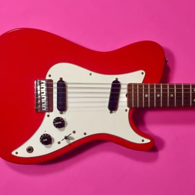 Fender Bullet Deluxe 1981 Bright Dakota red for sale