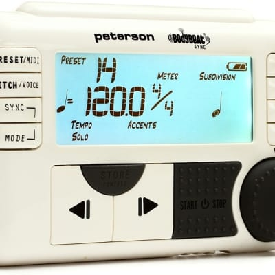 Peterson BodyBeat Sync Wireless Pulsating Metronome for sale