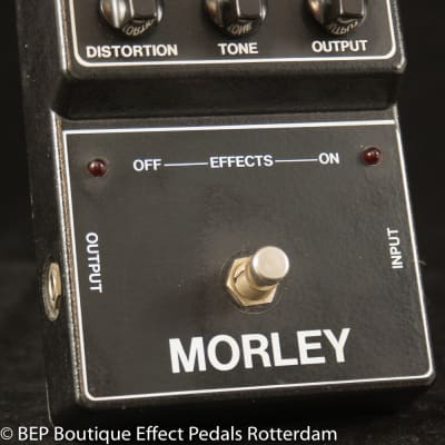 Morley MOD-DDB Deluxe Distortion early 80's s/n 10683 USA
