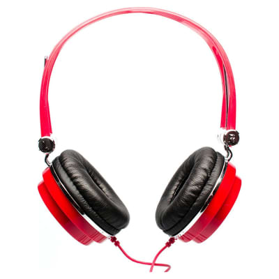 CAD MH100 Red Closed-Back Studio Headphones