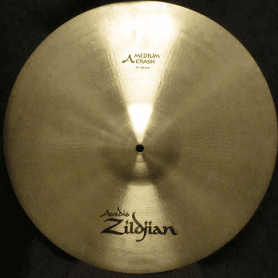 "Zildjian 19"" A Series Medium Crash Cymbal 1982 - 2017"