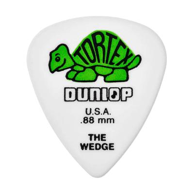 Dunlop 424R88 Tortex Wedge .88mm Guitar Picks (72-Pack)