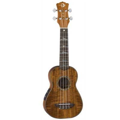 Luna High Tide Soprano A/E Koa Ukulele for sale