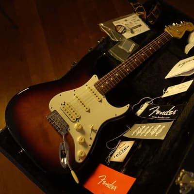 Fender American Standard Stratocaster HSS 2013 Sunburst for sale