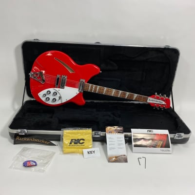 2013 Rickenbacker 360/12 Fire Engine Red for sale