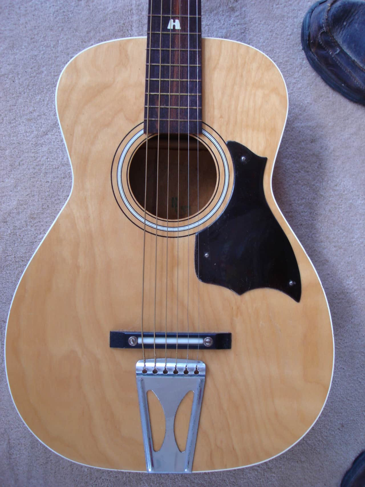 Franks Body Shop >> Stella Parlor Guitar Vintage Early Model H6128 | Reverb