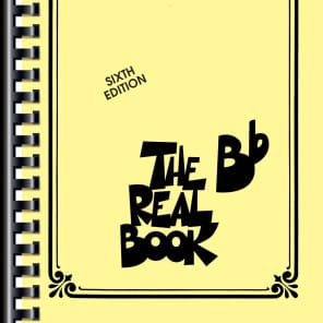 Hal Leonard The Real Bb Book - Volume 1, 6th Edition