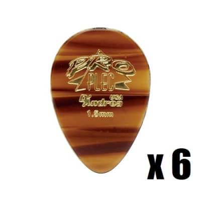 D'Andrea USA Pro Plec 354 Shape 1.5mm 6 Pick Pack for sale