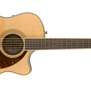 Fender PM-4CE Auditorium Limited Acoustic/Electric, Ovangkol Fingerboard, Natural w/Case