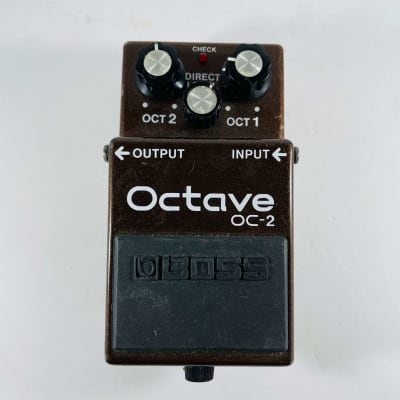 Boss OC-2 Octave (Black Label) 1984 - 1989 Brown *Sustainably Shipped*
