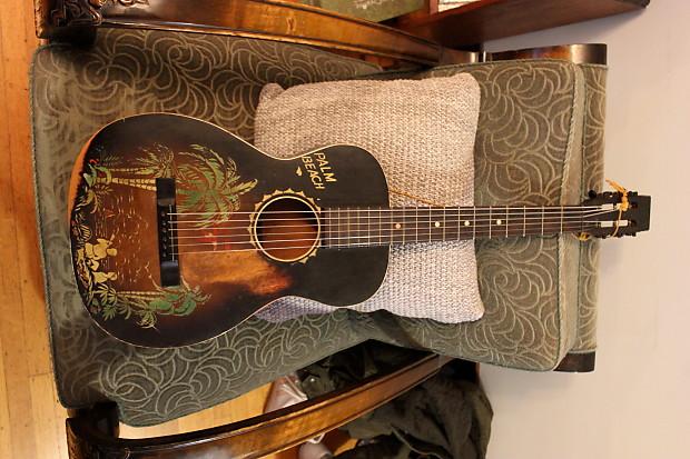 Harmony Supertone Palm Beach Parlor Guitar
