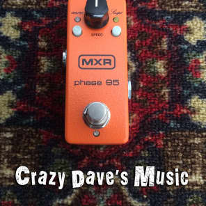 MXR Phase 95 Mini Phase M290 AC adapter Included