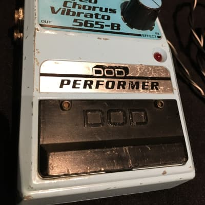 DOD Stereo Chorus Vibrato 565-B 1980's Powder Blue for sale
