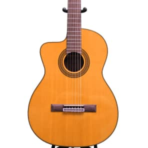Takamine Lefty GC5CELH-NAT Acoustic Electric Classical Cutaway Guitar, GC5CELHNAT for sale