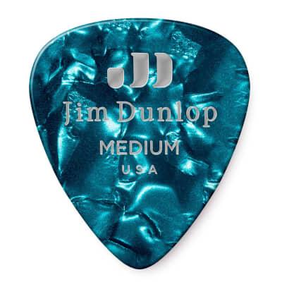 Dunlop 483R11MD Celluloid Standard Classics Medium Guitar Picks (72-Pack)