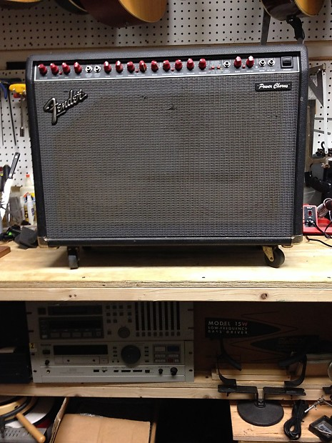 fender power chorus vintage red knobs stereo 130 w guitar reverb. Black Bedroom Furniture Sets. Home Design Ideas