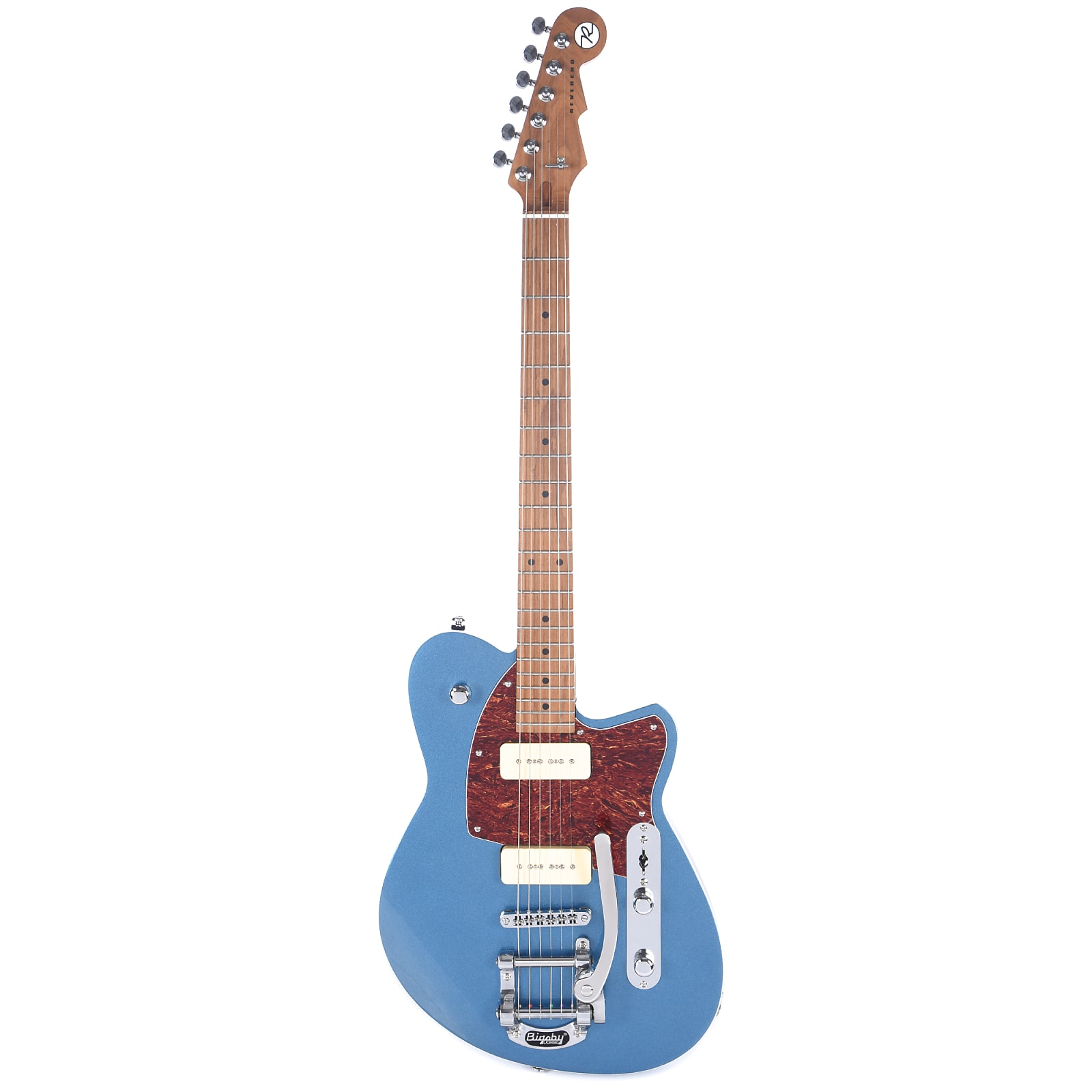 Reverend Charger 290 Great Lakes Blue LE w/Bigsby & Roasted Maple Neck (CME Exclusive)