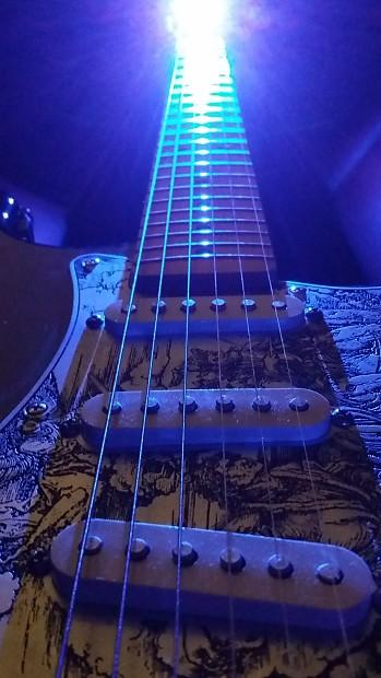 Guitar Fret Board LED Light BLUE FRETLORD SPECTRUS