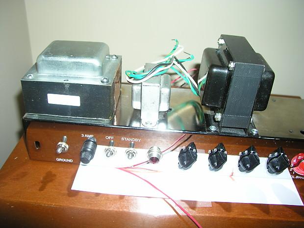 Unassembled D I Y HOFFMAN Tweed Bassman '59 (5F6-A) Amp Kit