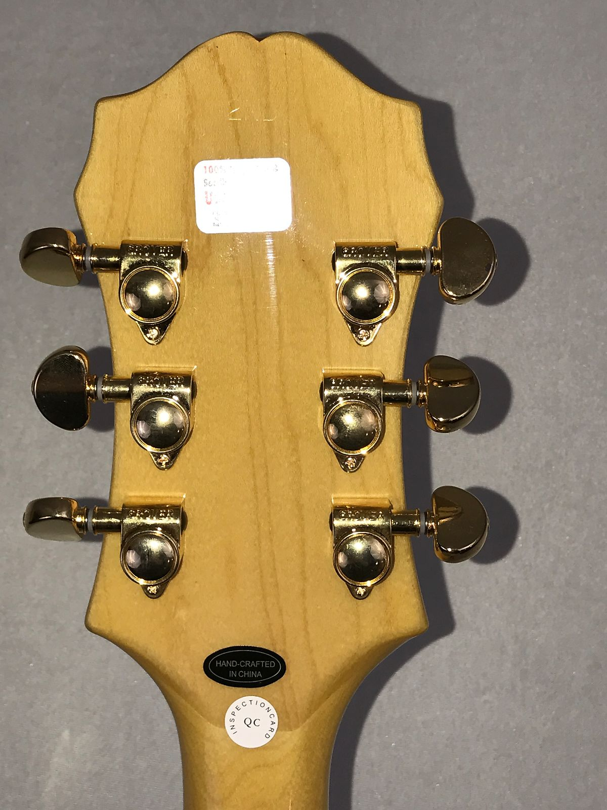 Epiphone Broadway Electric Guitar – Used/2nd – Natural